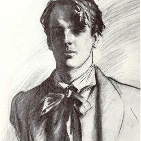 Portrait of William Butler Yeats by John Singer Sargent 1908