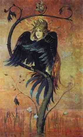 Gamayun, The Prophetic Bird Artist: Viktor Vasnetsov Painted: 1897