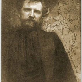 1.-Alphonse-Mucha-by-Edward-Steichen-American1879-_-1973-1890s