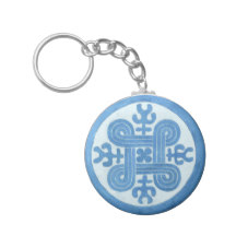 Hannunvaakuna ancient protection symbol key ring