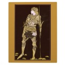 Knight in Armour Wall Plaque
