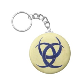 Hannunvaakuna - Ancient Finnish symbol Key Ring by Nebankh