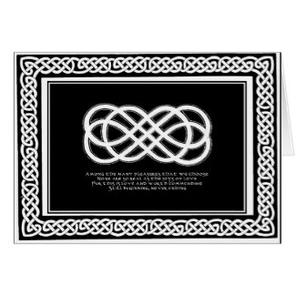 View or Buy Celtic Neverending Knot with traditional folklore love poem