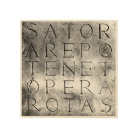 View or buy sator rotas ancient secret magical symbol wood wall art