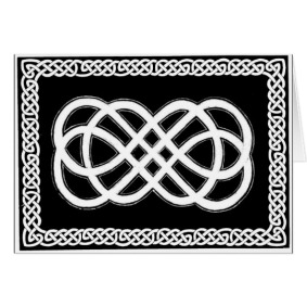 view or buy Celtic Everlasting knot card