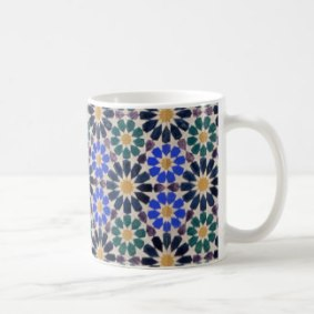 Traditional Geometry in Nature mug